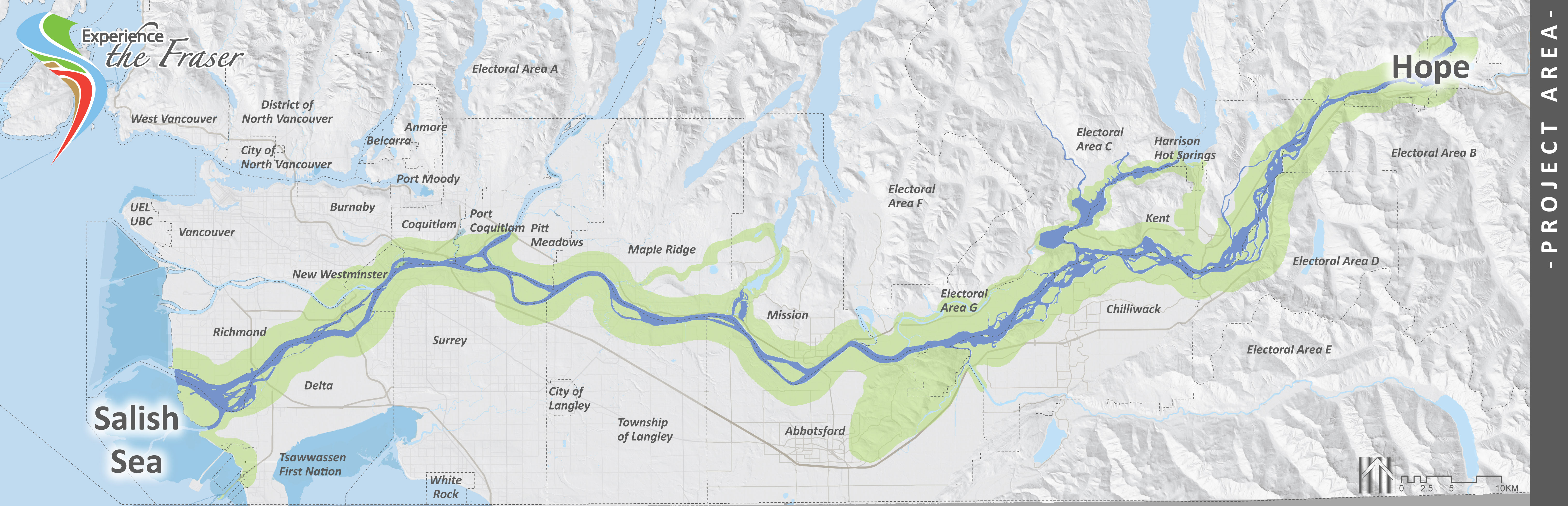 Fraser Valley Map Experience the Fraser | Fraser Valley Regional District